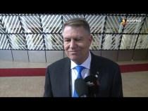 Iohannis: Pregătirile pentru preluarea preşedinţiei Consiliului UE sunt în fază avansată