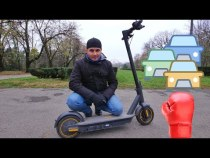 Trotineta cu care bați traficul – Ninebot Kickscooter Max G30