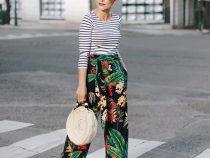 Pantaloni cu imprimeuri, un trend jovial de primavara