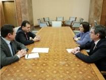 Întâlnirea premierului Ludovic Orban cu Maia Sandu, președinte al Partidului Acțiune și Solidaritate, Blocul ACUM, din Republica Moldova