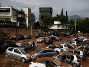 Inundații în Grecia