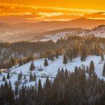 Prima ninsoare din această iarnă în Pasul Ciumârna | GALERIE FOTO