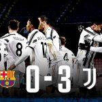 Liga Campionilor: Juventus a câștigat cu 3-0 la Barcelona