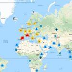 Alegerile parlamentare: Harta interactivă a secțiilor de votare în străinătate