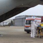 Pacienți cu COVID, în stare gravă, transferați din București la alte spitale din țară | VIDEO