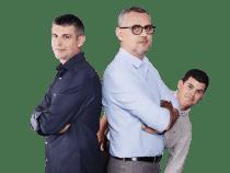 Vlad, George și Luca revin cu un nou sezon Deșteptarea, la Europa FM