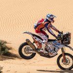 Mani Gyenes este pe locul 3 la clasa Moto, la jumătatea Raliului Dakar 2021
