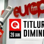 26 IANUARIE 2021: Titlurile dimineții, la Europa FM