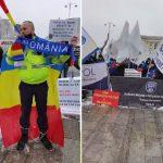 Polițiștii afiliați sindicatului Europol au protestat în fața Ministerului de Interne | VIDEO