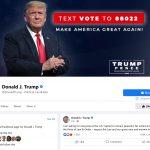 Mark Zuckerberg anunță că Donald Trump rămâne fără acces la conturile de Instagram și Facebook
