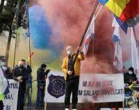 Ministrul Bode, despre protestul cu fumigene: O manifestare ce nu face cinste polițiștilor