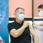 Klaus Iohannis a primit a doua doză de vaccin anti-Covid