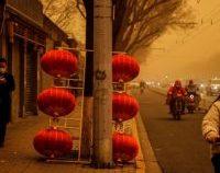 China: Capitala Beijing, afectată de o furtună de nisip