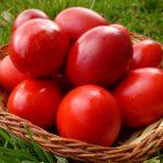 Înroșirea ouălor de Paști, în Joia Mare – GALERIE FOTO