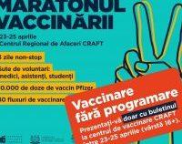 Vaccinare doar cu buletinul, la Timișoara | AUDIO