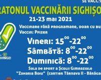 Maraton de vaccinare și la Sighişoara