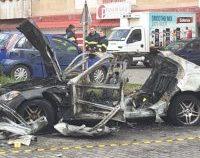 Poliţia are un grup de suspecţi în cazul bărbatului din Arad, care a murit după ce i-a explodat maşina/ AUDIO