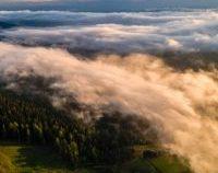 Cum se vede răsăritul de soare deasupra norilor | GALERIE FOTO