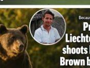 Prima reacție a prințului austriac, după scandalul legat de uciderea ursului Arthur