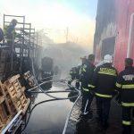 Bârlad: Șase case, cuprinse de flăcări