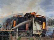 O biserică din județul Vrancea a ars din temelii