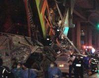 Accident grav la metroul din Mexico City. Cel puţin 23 persoane au decedat, după ce o linie suspendată s-a prăbușit