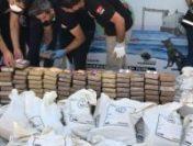 O tonă de cocaină, descoperită într-un port din Turcia