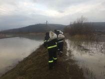 Risc crescut de inundaţii pentru râuri din judeţele Braşov, Covasna, Prahova şi Buzău