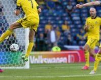 EURO 2020: Ucraina, în sferturi după ce a învins Suedia cu 2-1