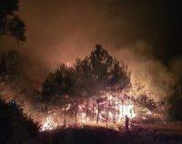 Incendiu puternic în insula grecească Samos: Mai multe hoteluri și reședințe, evacuate