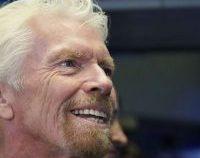 Miliardarul Richard Branson a revenit din călătoria sa în spațiu