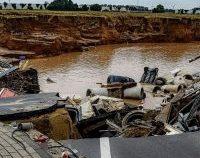Bilanțul inundațiilor din vestul Europei, în continuă creștere