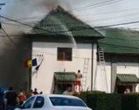 Incendiu la un centru de vaccinare din județul Dolj   VIDEO