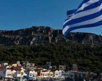 Lockdown nocturn pe insula grecească Mykonos