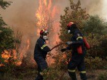 Tacticile de luptă cu flăcările cu care i-au impresionat pompierii românii pe greci