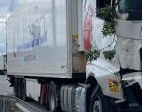 Mai mulți șoferi români au oprit un TIR scăpat de sub control, pe o autostradă din Spania | VIDEO