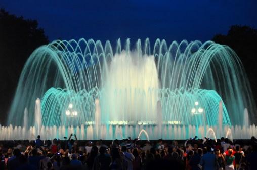 Magic fountain Montjuic 12