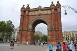 Arcul de Triumf din Barcelona 06