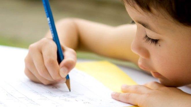 escrever a mao na escola