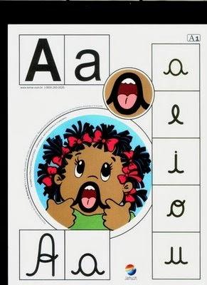 Alfabeto colorido a
