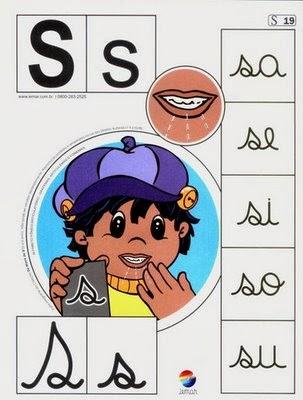 Alfabeto colorido s