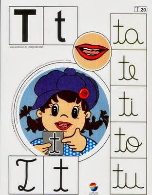 Alfabeto colorido t