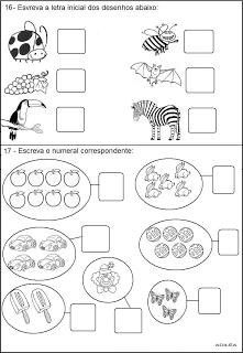 Provas 1° ano Testes avaliações   atividades alfabetização  imprimir (6)
