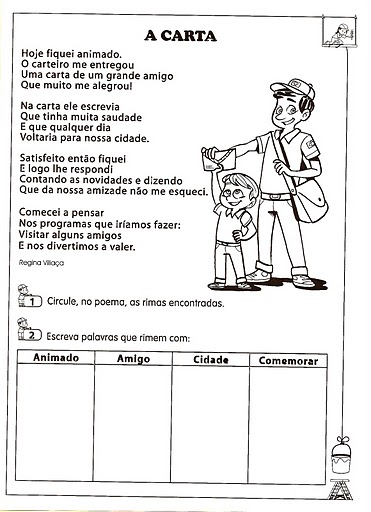 interpretação de Texto atividades exercicios