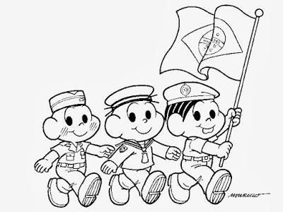 Atividade dia da bandeira 1° ano