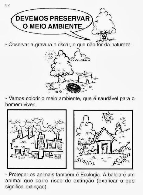 Atividade meio ambiente 2° ano
