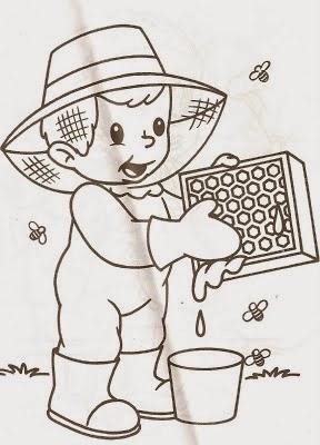 Desenho Dia do Trabalho colorir