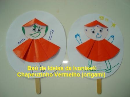 DOBRADURA CHAPEUZINHO VERMELHO
