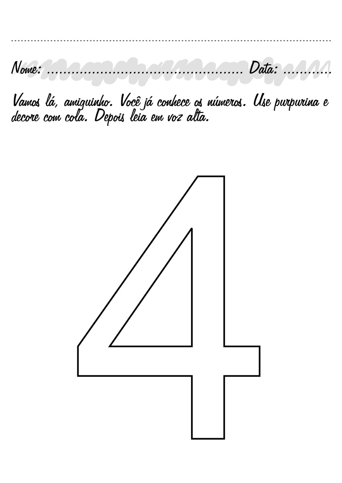 13/4/2020· 18 desenhos do número 2 para colorir e imprimir. ATIVIDADES COM NUMERO 4 PARA EDUCAÇÃO INFANTIL
