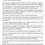 IDEIAS DE PROBLEMAS DE MATEMÁTICA PARA O 4º ANO